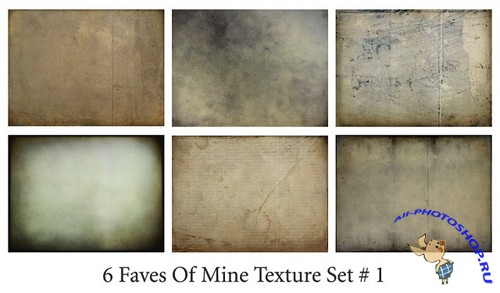 6 Faves of Mine Texture Set # 1
