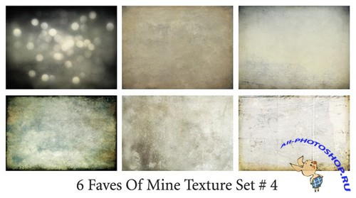 6 Faves of Mine Texture Set # 4