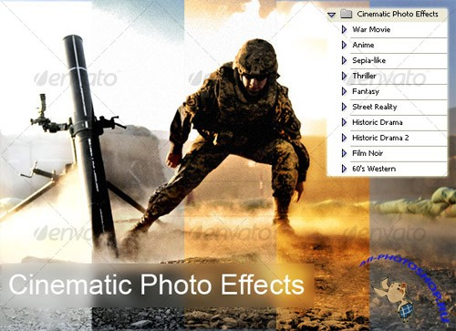 GraphicRiver - Cinematic Photo Effects