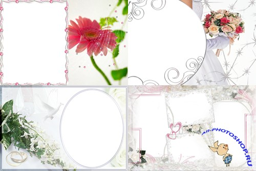 Photo Frame - Wedding Design