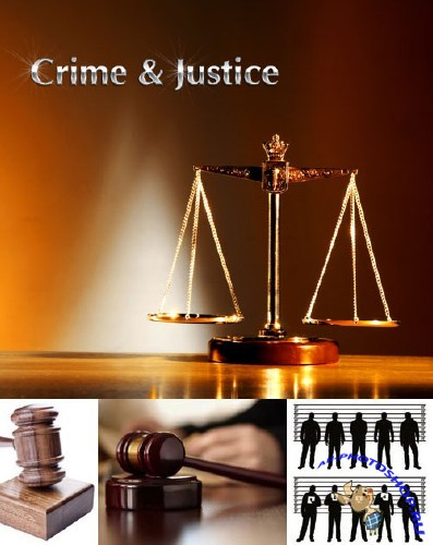 Crime & Justice Concept - Stock Photo