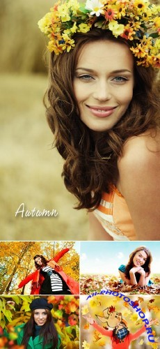 Stock Photo - Autumn Girls 2