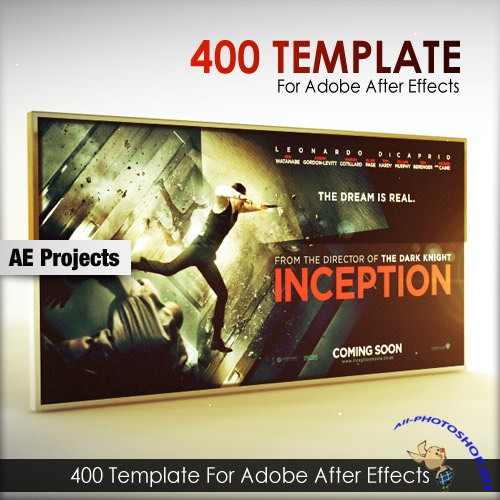 400 After Effects Projects Templates