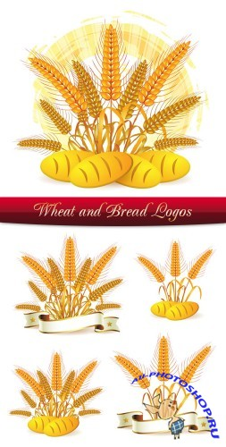 Wheat and Bread Logos