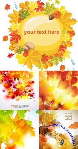 Autumn - Stock Vectors