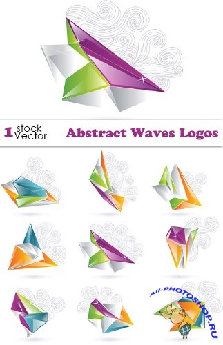 Abstract Waves Logos