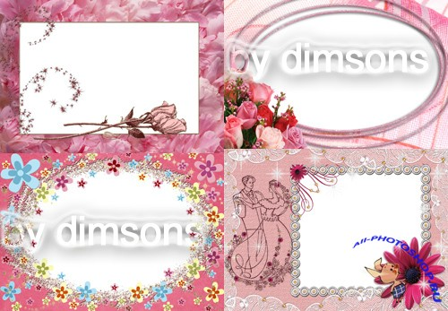 Photo Frame - Rosebud