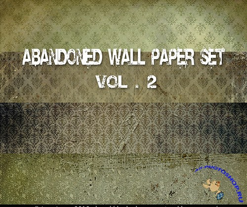 Abandoned Wall Paper Set Vol 2