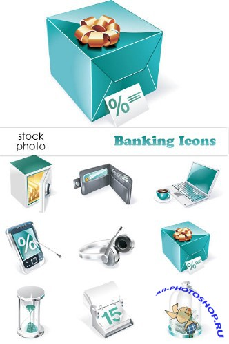 Vectors - Banking Icons