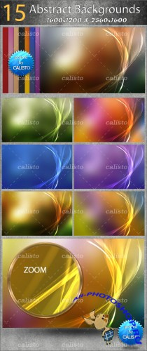15 Abstract Backgrounds Pack