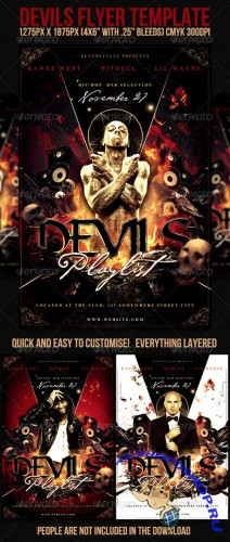 GraphicRiver - Devils Flyer Template
