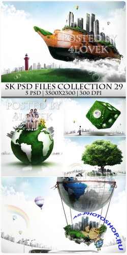 SK PSD files Collection 29