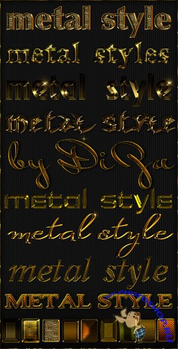 Gold styles - 4