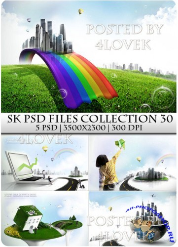 SK PSD files Collection 30