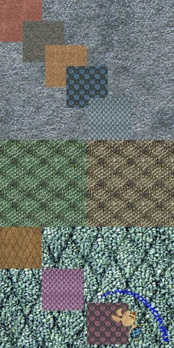 A set of textures of carpet # 1