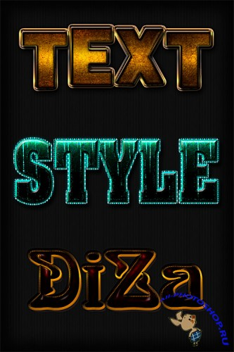 Text styles by DiZa - 15
