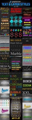 GraphicRiver Text & Layer Styles Pack