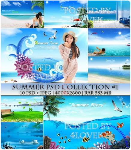 Summer PSD Collection #1