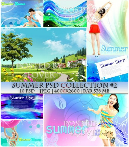 Summer PSD Collection #2