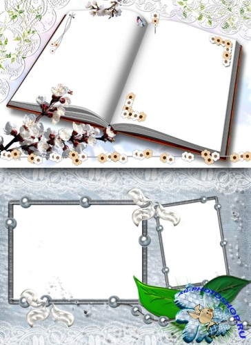 Photo Frame - Open Book