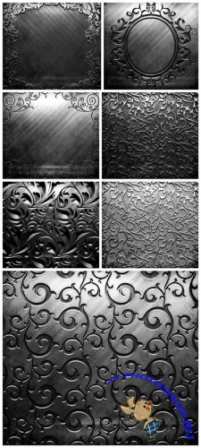 Pattern Metal Backgrounds - Metal, patterns, background, texture