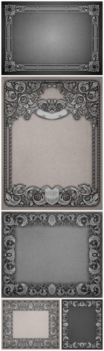Vintage Frames Backgrounds - Vintage, frame, pattern, background, texture