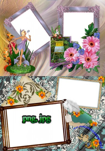 Photo Frame - Flower Fairy