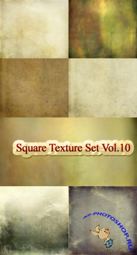 Square Texture Set Vol.10
