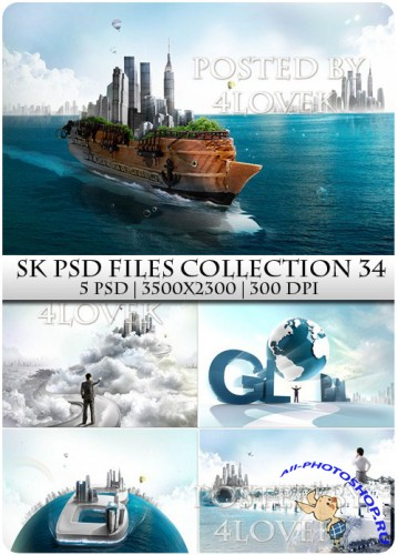 SK PSD files Collection 34