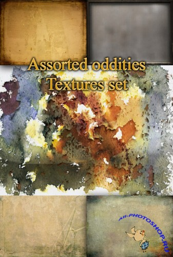 Assorted Oddities Textures Set
