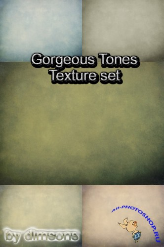 Gorgeous Tones Texture Set