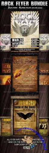 GraphicRiver - Rock Party/Concert Flyer Template