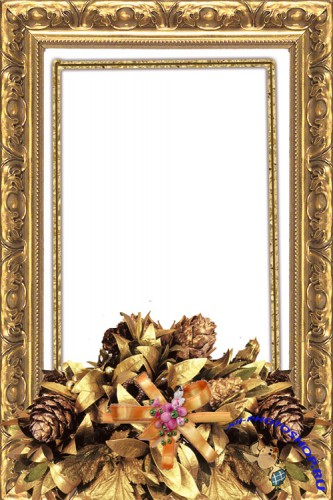 Photo Frame - Gold