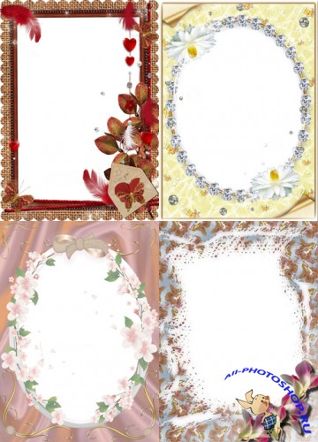 Photo Frame - Delicate little flowers