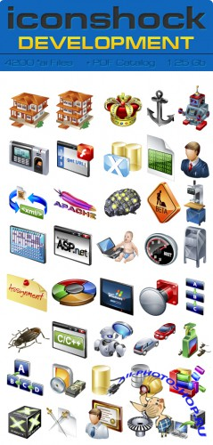Real Vista Development Vector Icons