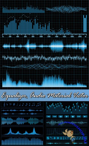 Equalizer, Audio Material Vector