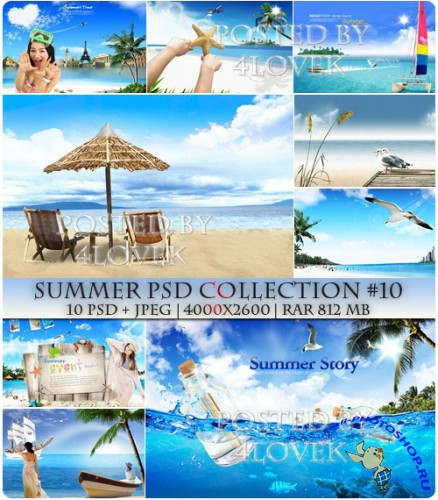 Summer PSD Collection #10