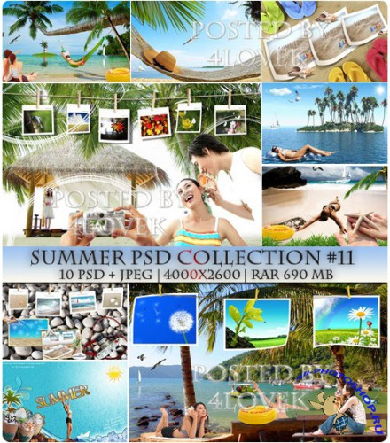 Summer PSD Collection #11