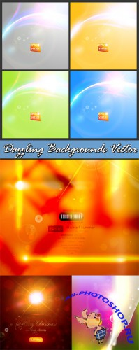 Dazzling Backgrounds Vector