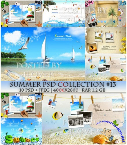 Summer PSD Collection #13