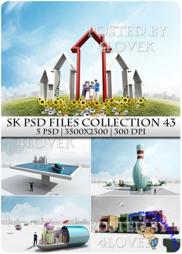 SK PSD files Collection 43