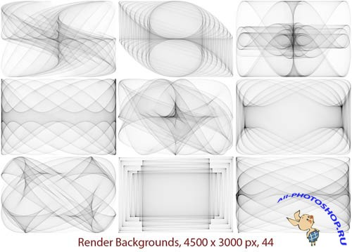 Render Frames and Backgrounds