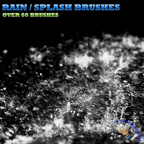 60 splash rain brushes