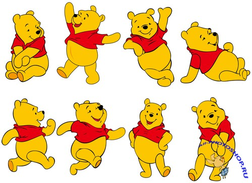 Winnie the Pooh Vector