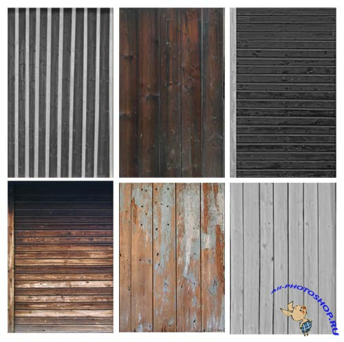 Real Textures - Wood (CD 1, CD 2). 200 textures