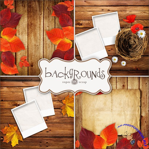Textures - Autumn Backgrounds #1