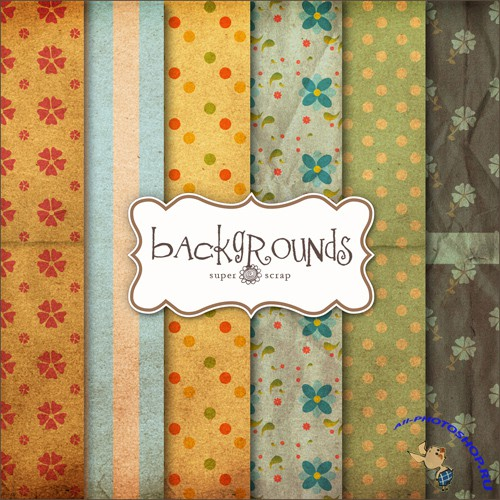 Textures - Old Vintage Backgrounds #45