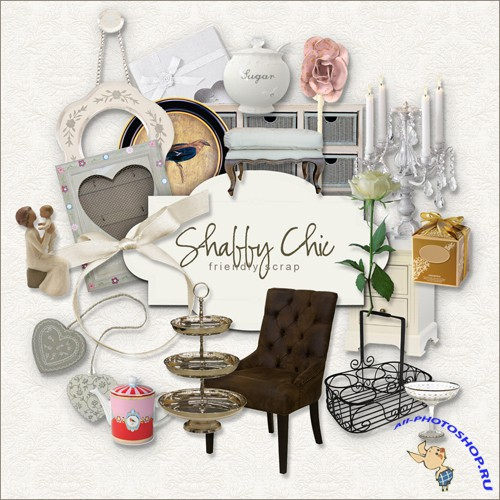Scrap-kit - Shabby Chic