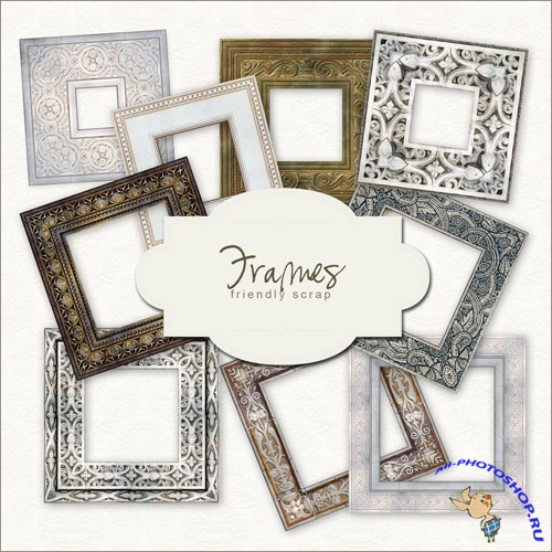 Scrap-kit - Border Frames #1