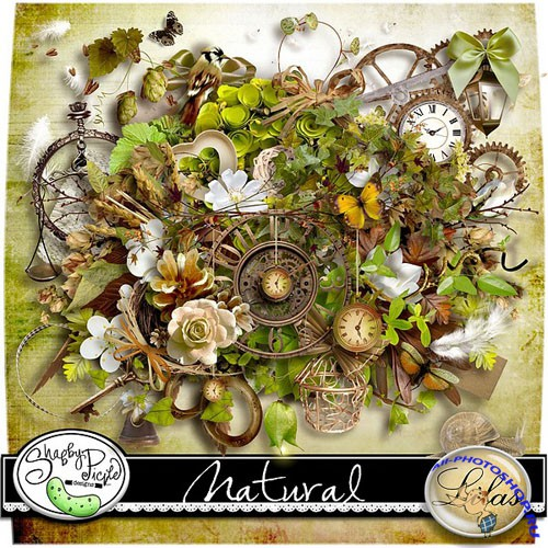 Scrap-set - Natural by Lilas Design